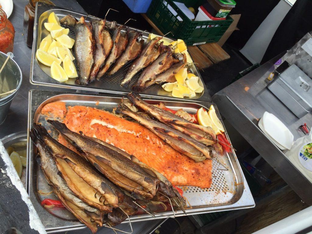 Smoked Fisch Variationen